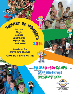 CSA Summer Camp 2016_Cover
