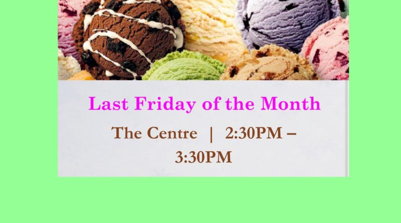 Ice Cream Social | October 28, 2016
