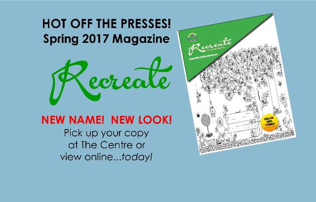 Our Spring Magazine has a NEW look!