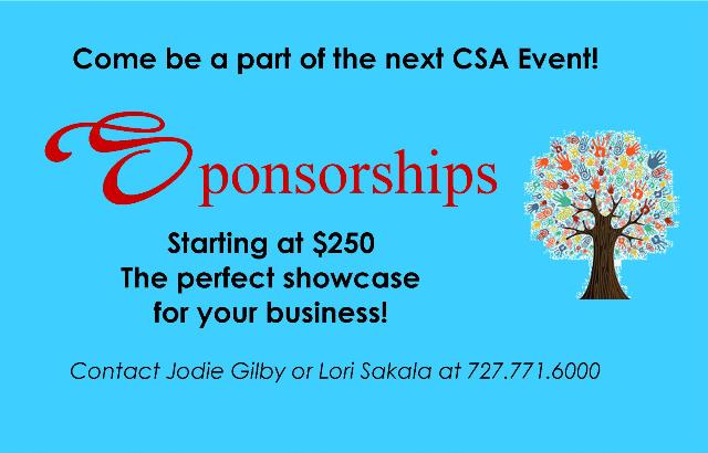 Sponsorship Opportunities at CSA!