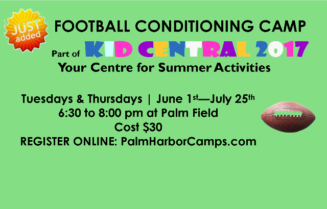 NEW Football Conditioning Camp