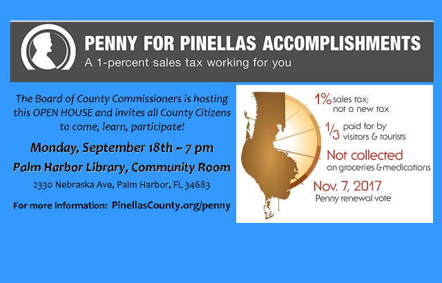 Penny for Pinellas Info | September 18, 2017