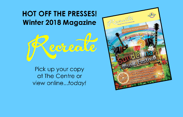 The Winter 2018 Magazine is here!
