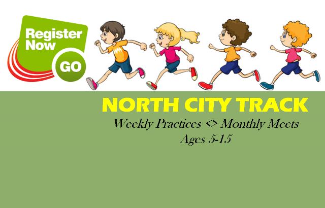 North City Track – REGISTER NOW!