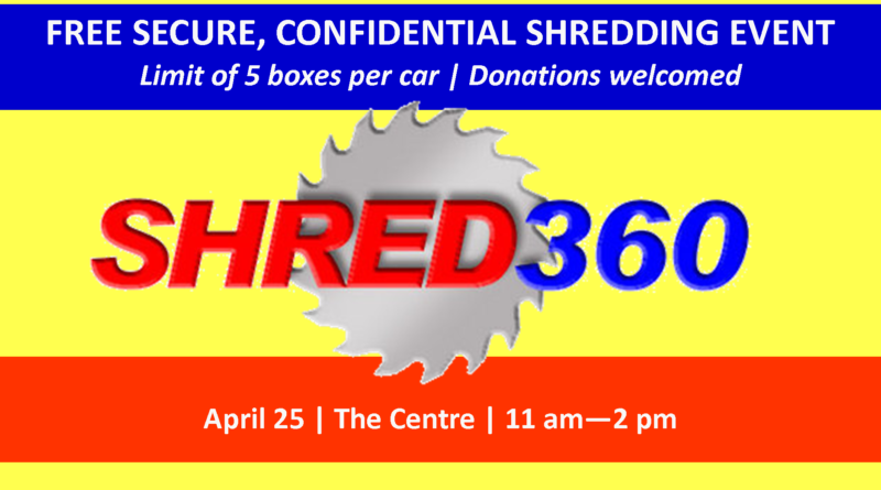 Secure Shredding Event | April 25, 2018