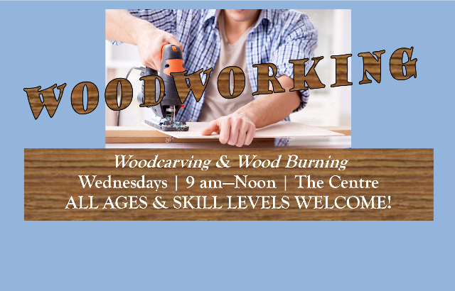 Woodworking | Wednesdays, 9 am