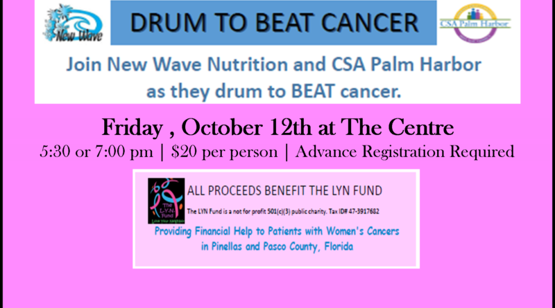 FUNDRAISER: Drum to Beat Cancer
