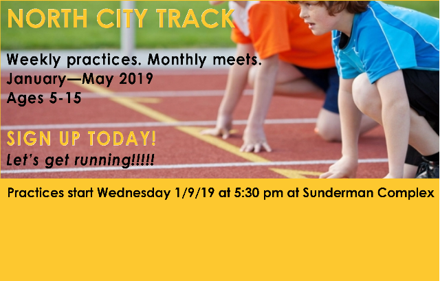 North City Track | REGISTRATION OPEN!