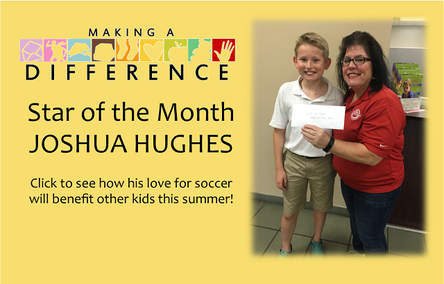 Making a Difference: Joshua Hughes