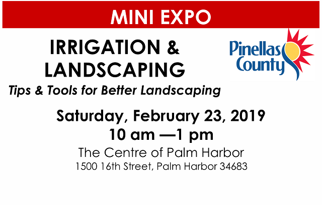 Irrigation & Landscaping Expo | February 23, 2019