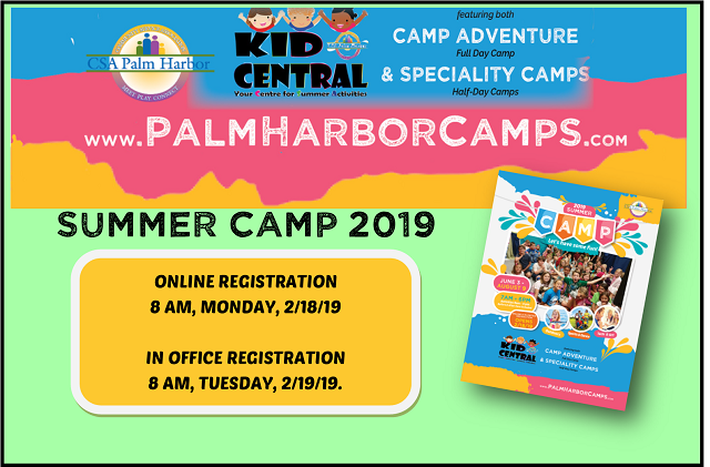 Summer Camp Registration NOW OPEN!