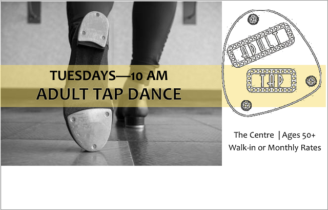 Adult Tap Dance | Tuesdays, 10 AM