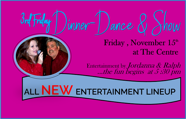 Dinner Buffet & Dance | November 15, 2019