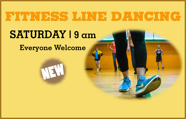 Fitness Line Dancing | Saturday, 9 am