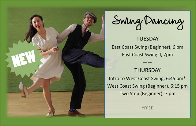 Swing Dancing | Tuesdays & Thursdays