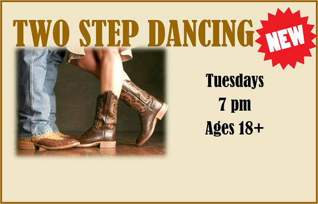 Two Step Dancing | Tuesdays, 7 pm