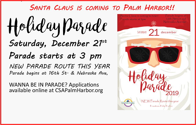 Annual Holiday Parade | December 21, 2019