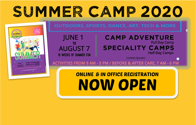 Summer Camp 2020 – REGISTRATION NOW OPEN!