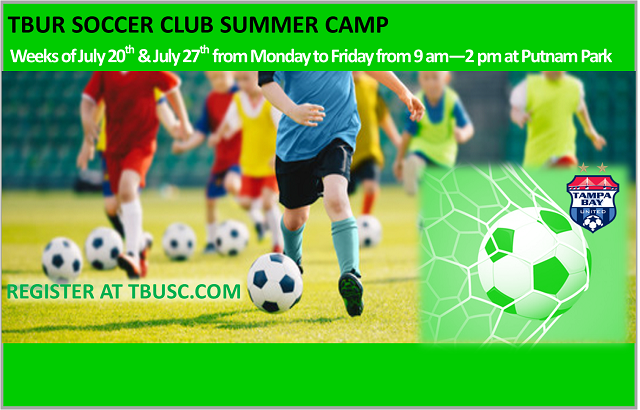SPECIALTY CAMP: Soccer Camp, week of 7/20 & 7/27
