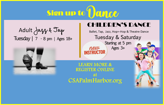 NEW Dance Classes for Children & Adults…sign up today!
