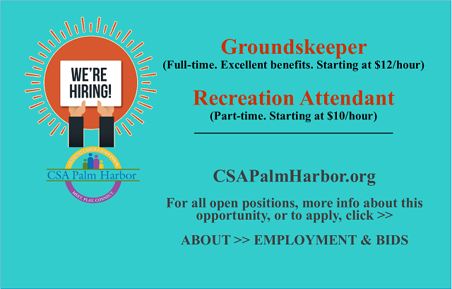 We are hiring!  Apply today.