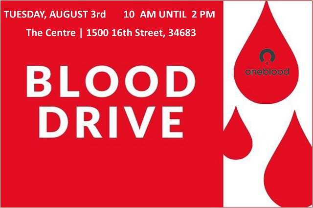 Blood Drive   August 3, 2021